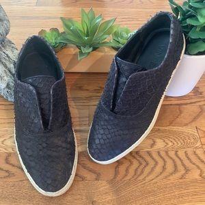 Vince Shoes - Vince Black Leather Loafer Shoes